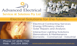 advanced electrical services toowoomba