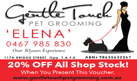 Gentle Touch Pet Grooming Toowoomba