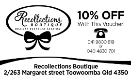recollections boutique toowoomba