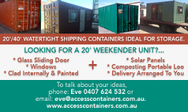 access containers toowoomba